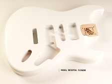 Blem - XGP Premium USA ASH HSH ST Body Mary Kaye White