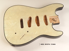 Blem - XGP REAL PEARL SHELL Strat® Style Body 3 Single Coils