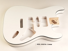 Blem - XGP Premium ALDER HSH ST DOUBLE BOUND Body Artic White