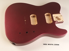Blem - XGP Professional Single-Cutaway Body 2 Humbuckers Burgundy Mist Metallic
