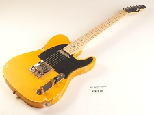 LUTHIER SPECIAL - Slick SL51 Aged Butterscotch Dual Single-Coil Pickups, Maple Fingerboard