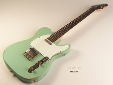 LUTHEIER SPECIAL - Slick SL51 Aged Surf Green Dual Single-Coil Pickups