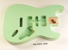 Blem - XGP Premium ALDER HSH ST DOUBLE BOUND Body Surf Green
