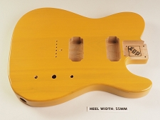 BLEM - XGP Professional Single-Cutaway USA Swamp Ash Body 2 Humbuckers 1952 Butterscotch