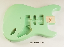 BLEM - Lido ST Double cutaway Body Solid Poplar Surf Green