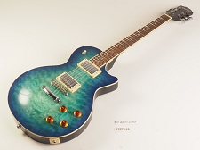 BLEM - PRO510 QUILT Maple Top, GFS Coil Tap Kwikplug Pickups, Blueburst