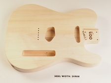BLEM - Lido TE Single cutaway Body Solid Poplar No Finish