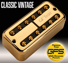 GF'Tron Gold Classic Vintage Alnico II Pickups fits Filter'Tron