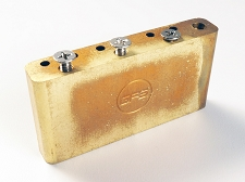 Import 10.5mm Spaced Brass Tremolo Block