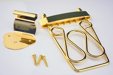 Gold Fancy Trapeze Tailpiece - Great for Sustain