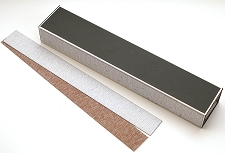 Aluminum Fret Levelling tool with Extra Sanding Sheets