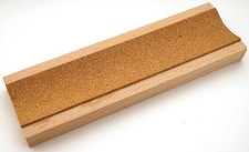 Cork Lined guitar neck rest