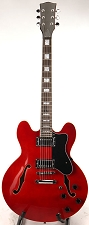 LIMITED OPPORTUNITY- Semi Hollow SETNECK BELOW COST! Cherry Red Two Humbuckers