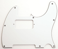 Filter'Tron Neck Humbucker W/B/W Pickguard, Fits Telecaster®
