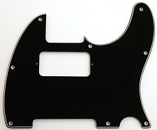 Filter'Tron Neck Humbucker 3-Ply Black Pickguard, Fits Telecaster®