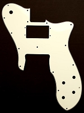Tele Custom Neck Oversized Humbucker, Bridge single style Pickguard