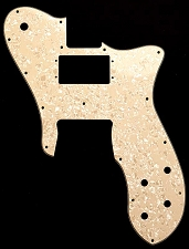 Tele Custom Neck Ovesized Humbucker, Bridge single style Pickguard Mother of Pearl