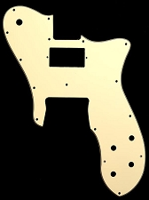 Tele Custom Neck Standard Humbucker, Bridge single style Pickguard
