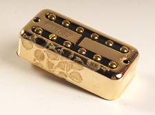BLEM - GF'Tron Gold Classic Vintage Alnico II Pickups fits Filter'Tron - BRIDGE POSITION