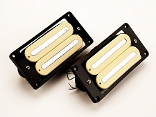 GFS Power Rails- Crushing power, Killer Tone- Ivory Calibrated Pair-BELOW COST!