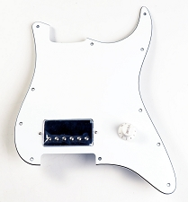 Single Chrome Humbucker EVH Rig- In White!