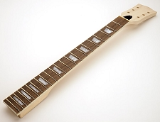 Unfinished LP Style Maple Neck, rosewood fingerboard. Curved Headstock.