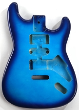 GF Basics ST Style Body, Metallic Blueburst, Full USA Thickness