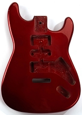 GF Basics ST Style Body, Candy Apple Red Full USA Thickness