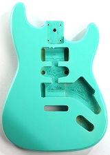 CLEARANCE - GF Basics ST Style Body, Surf Green, Full USA Thickness