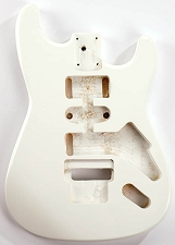 GF Basics Floyd Rose Cut ST Style Body Arctic White Full USA Thickness