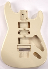 Clearance - GF Basics Floyd Rose Cut ST Style Body Mojave Tan Full USA Thickness
