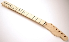 GF Basics 22 Fret TE Neck Maple NO FINISH