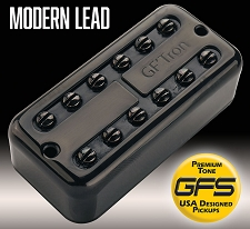 GF'Tron Modern Lead Black Hottest Alnico V Pickups fits Filter'Tron