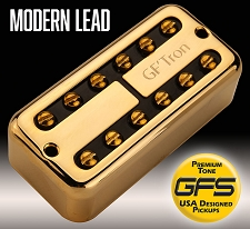 GF'Tron Modern Lead Gold Hottest Alnico V Pickups fits Filter'Tron