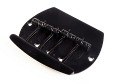 Classic Musicman Style Bass Black Bridge Replacement 4-strings