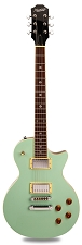 NEW! PRO500 Carved  Maple Top, Coil Tap Kwikplug Surf Green