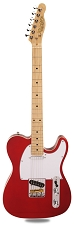 PRO840 Solid Alder, Binding, Candy Apple Red Kwikplug Equipped Maple