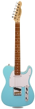 PRO840 Solid Alder, Binding, Sonic Blue Kwikplug Equipped Rosewood