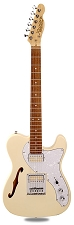 PRO845 Vintage Cream Thinline Alder Body Kwikplug Gold Foil Pickups Rosewood