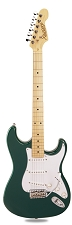 PRO870 British Racing Green, Solid Alder, Kwikplug Alnico Pickups Maple Fingerboard