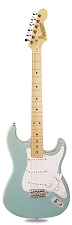 PRO870 Ice Blue Metallic, Solid Alder, Kwikplug Alnico Pickups Maple Fingerboard