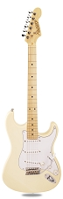 PRO870 Vintage Cream, Solid Alder, Kwikplug Alnico Pickups Maple Fingerboard
