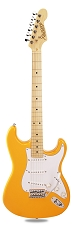 PRO870 Monaco Yellow, Solid Alder, Kwikplug Alnico Pickups Maple Fingerboard