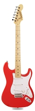 PRO870 Fiesta Red, Solid Alder, Kwikplug Alnico Pickups Maple Fingerboard