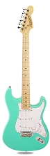 PRO870 Surf Green, Solid Alder, Kwikplug Alnico Pickups Maple Fingerboard