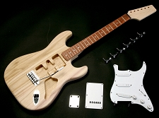 Blem - Super Lightweight Double-Cutaway Kit- Rosewood Fretboard