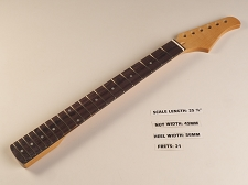 BLEMISHED - Clear Gloss ST 21 Fret Neck Rosewood Fingerboard - Fits Stratocaster®