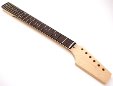 Paddle Headstock Unfinished TE 21 Fret Neck Rosewood Fingerboard - Fits Telecaster®