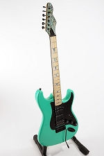 Will's 100% GFS Guitar -Built By Forrest- Surf Green Double Cutaway Guitar Built With All GFS Products