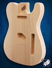 XGP Premium Alder Double Bound TE Body Unfinished
